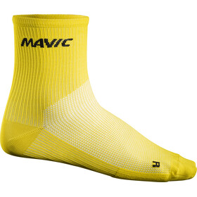 Mavic Cosmic Mid Cycling Socks yellow
